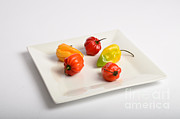 Consume Prints - Habanero Chili Pepper Print by Photo Researchers, Inc.