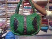 Indian Tapestries - Textiles - Hand Quilted Kantha Bags by Dinesh Rathi