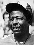 New York Mets Stadium Photo Prints - Hank Aaron (1934- ) Print by Granger