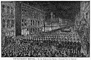 Union Square Prints - Haymarket Riot, 1886 Print by Granger