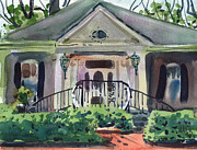 Gilbert Paintings - Hiram Butler House by Donald Maier