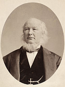 Journalist Framed Prints - Horace Greeley (1811-1872) Framed Print by Granger