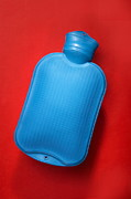 Hot Water Posters - Hot Water Bottle Poster by Mark Sykes