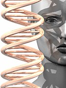 Human Representation Art - Human Genome, Conceptual Artwork by Laguna Design