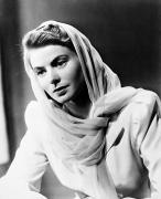 Starlet Metal Prints - Ingrid Bergman (1915-1982) Metal Print by Granger