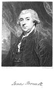 Reynolds Posters - James Boswell (1740-1795) Poster by Granger