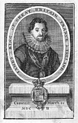 Coat Framed Prints - James I (1566-1625) Framed Print by Granger