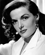Brunette Photo Posters - Jane Russell, Portrait Poster by Everett
