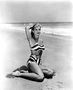 Two Piece Prints - Joanne Woodward, Ca. 1950s Print by Everett
