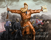 Abolition Photo Posters - John Brown, American Abolitionist Poster by Photo Researchers