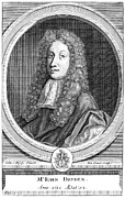 Dryden Framed Prints - John Dryden (1631-1700) Framed Print by Granger