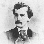 John Wilkes Booth Prints - John Wilkes Booth, American Assassin Print by Photo Researchers