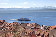 Waterways Prints - Lake Constance Meersburg Print by Joana Kruse