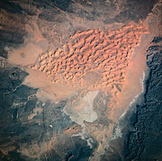 Aerospace Photos - Landscape Of Earth Viewed From Space by Stockbyte