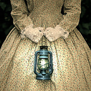 Period Dress Prints - Lantern Print by Joana Kruse