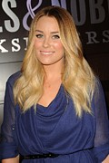 2010s Hairstyles Framed Prints - Lauren Conrad At In-store Appearance Framed Print by Everett