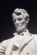 Statue Portrait Prints - Lincoln Memorial: Statue Print by Granger