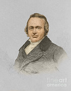 Agassiz Prints - Louis Agassiz, Swiss-american Polymath Print by Science Source