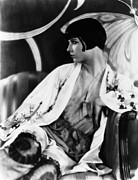 Bobbed Hair Framed Prints - Louise Brooks, Ca. Late 1920s Framed Print by Everett