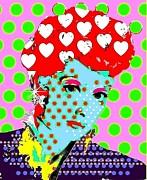 Lucy Print by Ricky Sencion