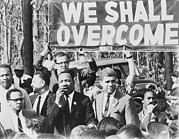 We Shall Overcome Framed Prints - Martin Luther King, Jr. 1929-1968 Framed Print by Everett