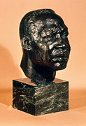 Statue Portrait Metal Prints - Martin Luther King, Jr Metal Print by Granger