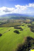 Pastureland Photo Posters - Maui Aerial Poster by Ron Dahlquist - Printscapes