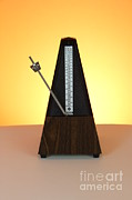 Tempo Framed Prints - Metronome Framed Print by Photo Researchers, Inc.