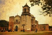 Colonial Architecture Photos - Mission San Jose by Iris Greenwell