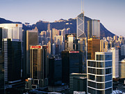 Peoples Republic Of China Photos - Modern City Skyline by Jeremy Woodhouse