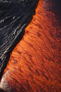 Layer Prints - Molten Pahoehoe Lava Print by Ron Dahlquist - Printscapes