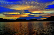 Morning Digital Art Originals - Moosehead lake by Adam Shevron