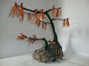 Tree Roots Sculpture Originals - Mothers Love by Scott Faucett