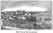 Germantown Photo Framed Prints - New Jersey, 1844 Framed Print by Granger