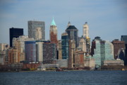 Island Prints - New York City Skyline Print by Frank Romeo