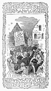 Mob Prints - New York: Stamp Act, 1765 Print by Granger