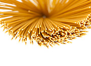 Spaghetti Noodles Photo Prints - Pasta Print by Blink Images
