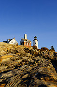 New England Lighthouse Prints - Pemaquid Point Lighthouse Print by John Greim