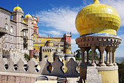Museum Framed Prints - Pena Palace Framed Print by Carlos Caetano