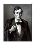 United States Presidents Framed Prints - President Lincoln Framed Print by War Is Hell Store