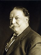 Taft Posters - President William Taft 1857-1930 Poster by Everett