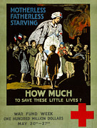 American Red Cross Prints - Red Cross Poster, 1917 Print by Granger