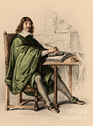 Philosophy Prints - Rene Descartes, French Polymath Print by Science Source