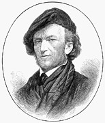 1876 Prints - Richard Wagner (1813-1883) Print by Granger