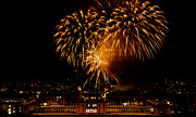 Greenwich Photos - Royal Greenwich Fireworks by Dawn OConnor
