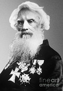 Painter Photo Photo Metal Prints - Samuel Morse, American Inventor Metal Print by Science Source