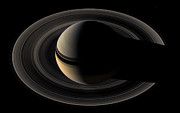 Bands Prints - Saturn Print by Stocktrek Images