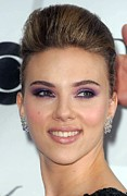 At Arrivals Prints - Scarlett Johansson At Arrivals Print by Everett