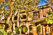 Sedona Prints - Sedona Tlaquepaque Shopping Center Print by Jon Berghoff