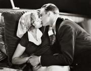 Kissing Framed Prints - Silent Film Still: Kissing Framed Print by Granger
